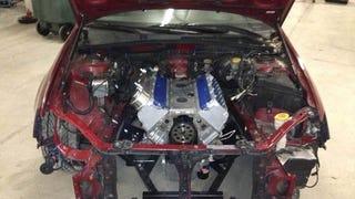 My Latest Project: LS2 6.0L V8 Legacy GT RWD