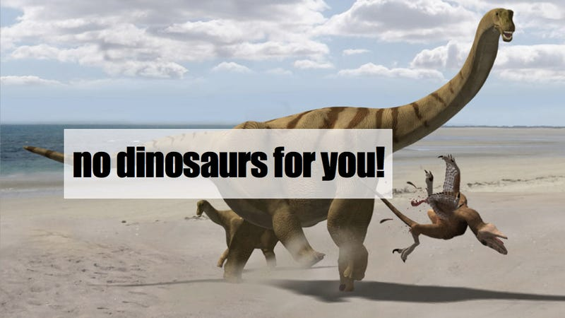 """NYC Dept of Education wants to ban the word """"dinosaur"""" from standardized tests"""
