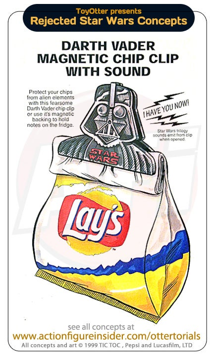 Rejected Star Wars Toys: George Lucas is denying you an inflatable Emperor's Throne!
