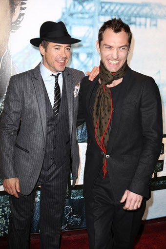 The Awesomeness Of The Sherlock Holmes Premiere? Elementary!