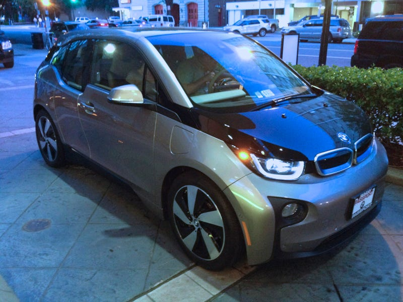 BMW i3 in the Wild