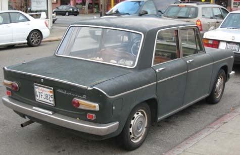 1966 Lancia Fulvia Berlina GT