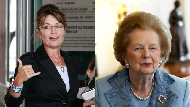 Margaret Thatcher Shall Not Hold Court for Sarah Palin