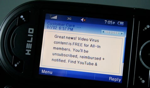 Helio's 3G YouTube Access Now Free