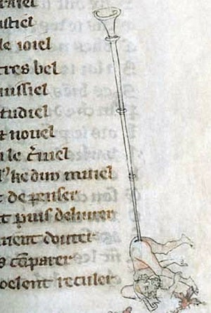 Are these the dirtiest manuscript doodles of the Middle Ages?