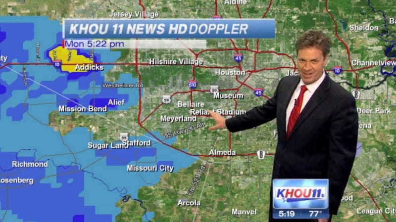 Meteorologist Can't Stop Hiccuping During Live Weather Report
