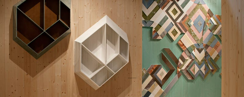 You'd Never Guess These Shelves Are Made From Earthquake Rubble