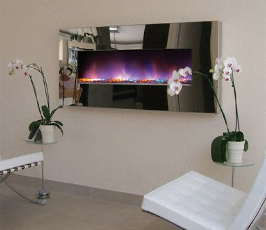 Electroscape LED Fireplace Brings the Aurora Borealis to Your Crib