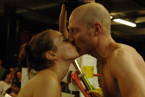 Jonathan Ames Beats Craig Davidson, Makes Out With Fiona Apple