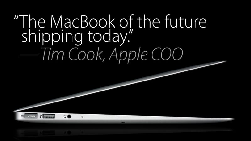 A Sneak Peek of the MacBook of the Future