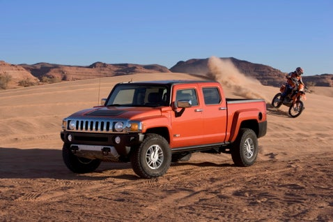 2009 Hummer H3T: Unofficially Revealed
