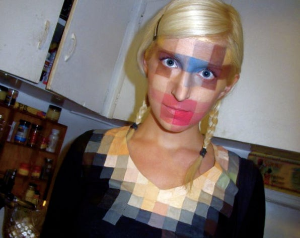 The 8-Bit Low-Res Make-Up Is High-Res Clever