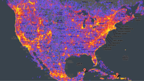 The World Touristiness Heatmap Helps You Avoid Tourist Traps