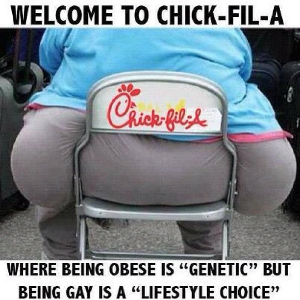 I Know You're Mad at Chick-fil-A, But Stop Taking It Out on Fat People