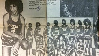 Prince Was An Afro-Rocking, Coach-Hating High School Basketball Player