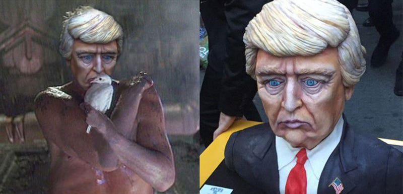 Trumpcake Is A Sad Delicacy On This Day Of Days