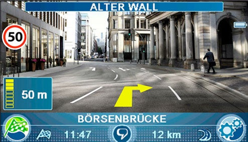 Blaupunkt Travel Pilot N700 Overlays Directions on Live Video, Reads Street Signs