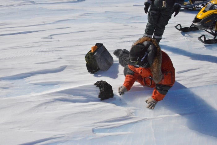 Meteorite discovered in Antarctica — what could go wrong?