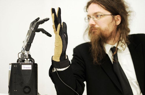 Give Danger The Finger (From A Safe Distance) With New Robot Hand