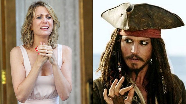 Kristen Wiig and Johnny Depp Are America's Biggest Movie Stars