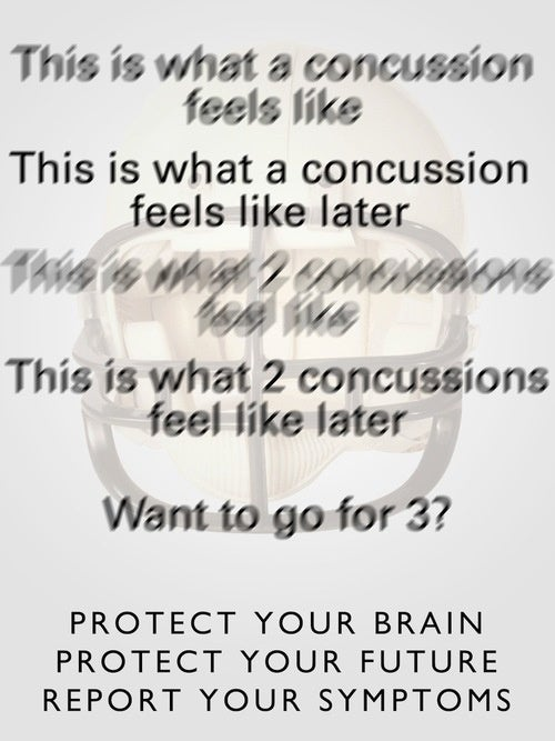This Should Have Been The NFL's Concussion Poster