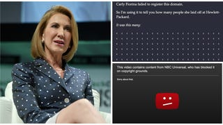 Carly Fiorina Is Almost as Bad at the Internet as She Was at Running HP