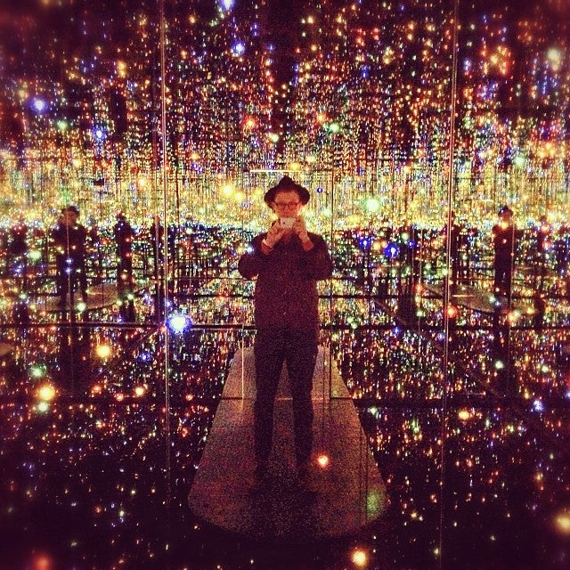 Inside NYC's New Mirrored Infinity Rooms