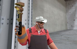 Team Fortress 2's Engineer Goes Golden, May Build Not-Dyin' Machine