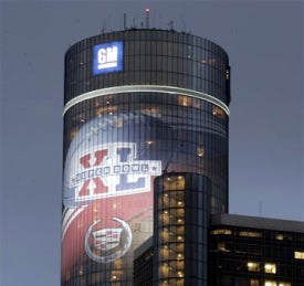 GM Drops Super Bowl TV Advertising