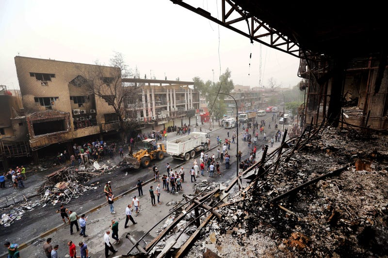 At Least 126 Killed in Baghdad Bombings, Including Dozens Of Children