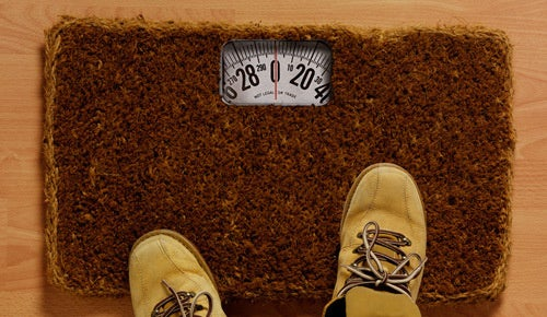 Welcome Mat Humiliates Guests by Weighing Them
