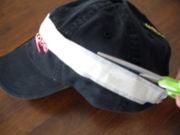 Make a Visor out of a Baseball Cap