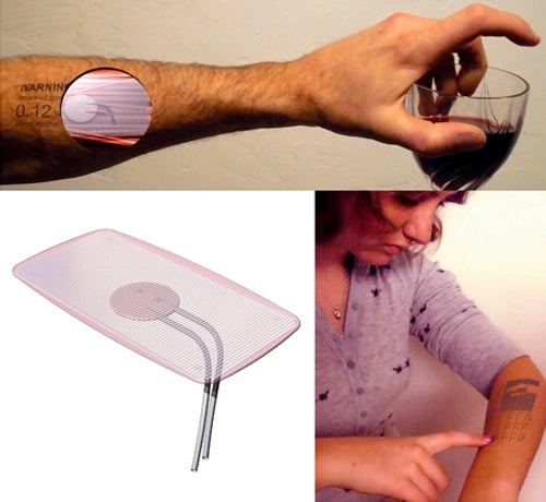 Digital Tattoo Interface Turns Your Skin Into A Display