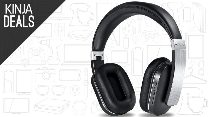 Go Wireless For Up To 20 Hours at a Time With These Cheap Bluetooth Headphones