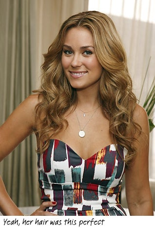 Lauren Conrad Is Less Stupid And Inane Than You've Been Led To Believe