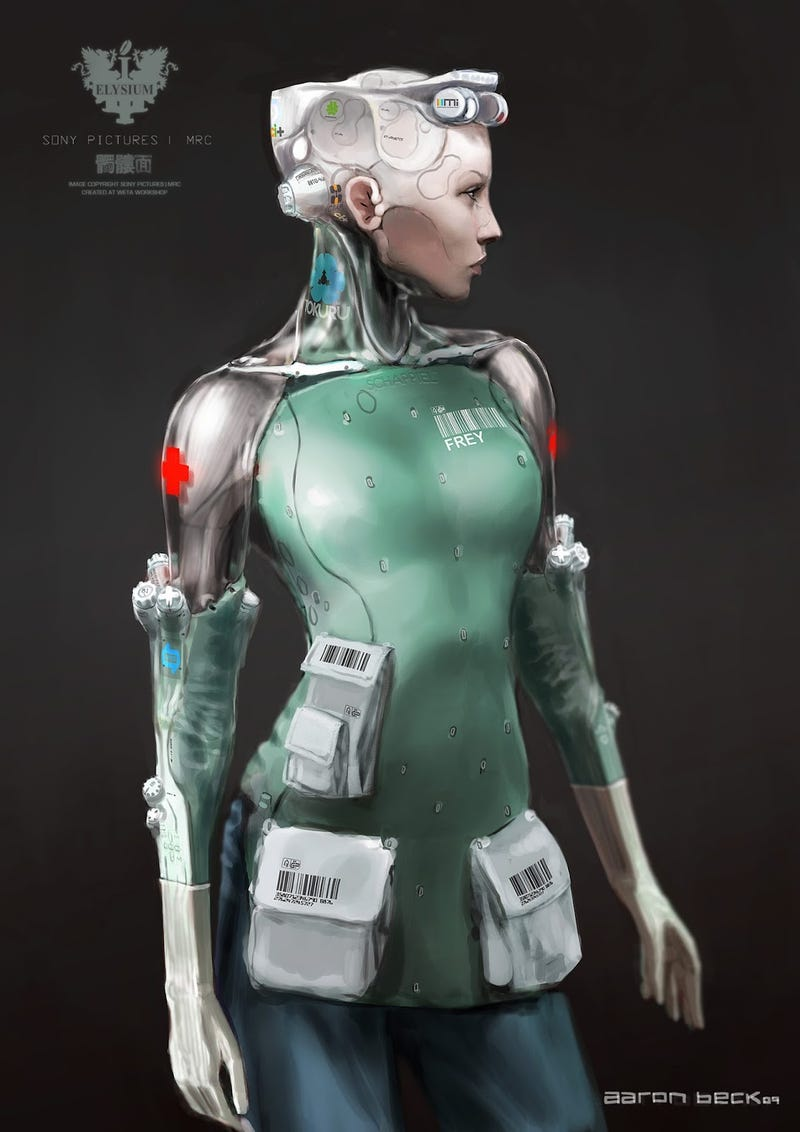 The Insane Sex Robots We Never Saw in Elysium
