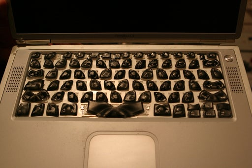 Nancy Drew and the Case of the Melted G4 Keyboard