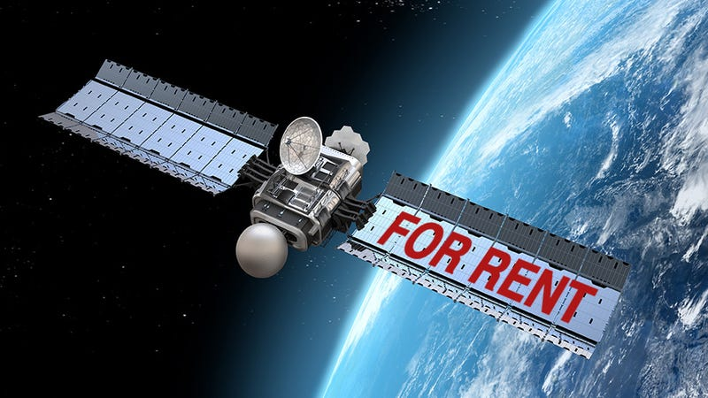 For Just $250 a Week You Can Rent Your Very Own Satellite