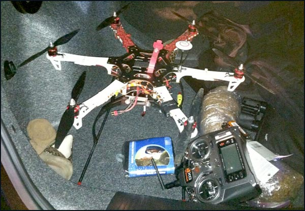 Police Bust ​Drone Dropping Contraband Into Georgia Prison Yard