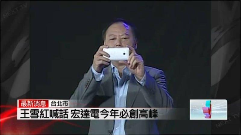 El jefe de HTC enloquece a lo Steve Ballmer y confirma el nuevo smartphone M7