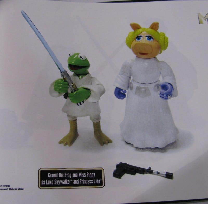 Star Wars Meets Disney? The Muppets? This Continues To Please Me.