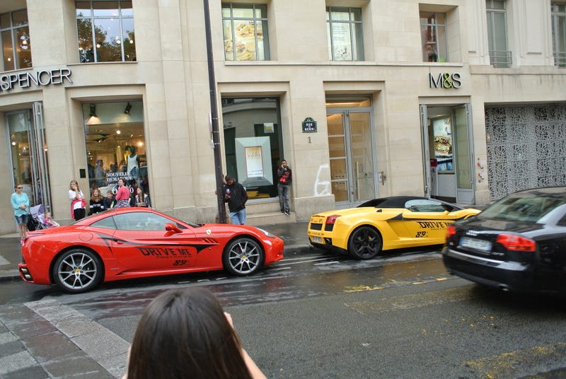 Went to Paris, saw some cars.