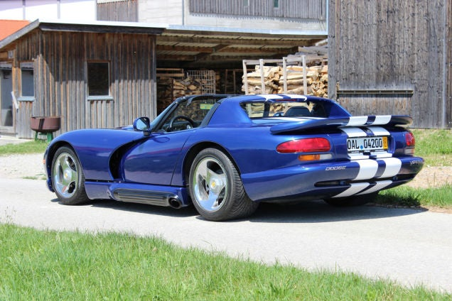 How To Import A Dodge Viper To Germany