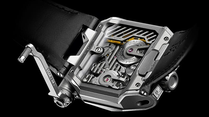 This Titanium Watch Can Tell You When It's Losing Accuracy
