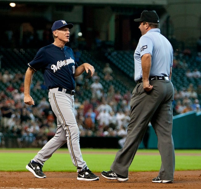 Umpire Sam Holbrook Tossed Zack Greinke After Just Four Pitches Last Night