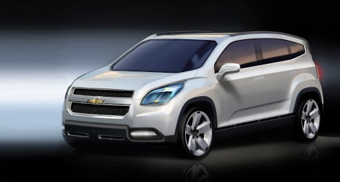 Chevy Orlando Concept Unveiled Ahead Of Paris Motor Show