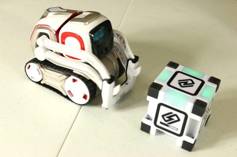 Toy Time Plays With Cozmo, The Little Robot With A Big Brain
