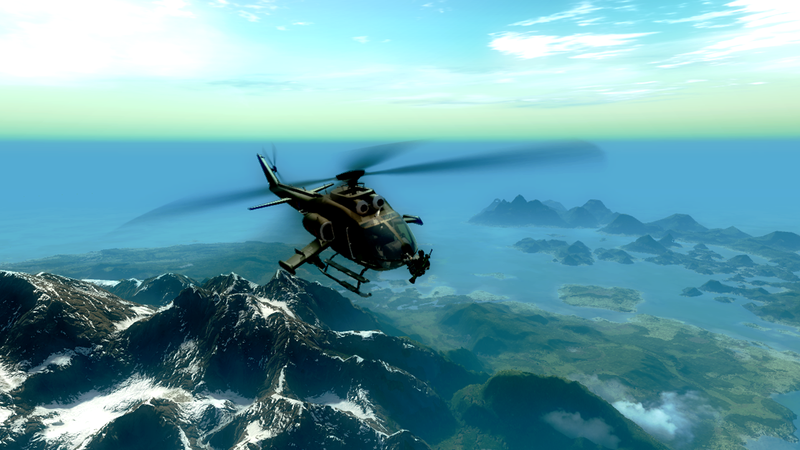 Just Cause 2 Screens Fall Out Of Plane And Explode