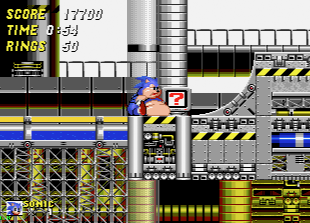 Brilliant 'Sonic 2 XL' Hack Adds Onion Rings, Morbid Obesity