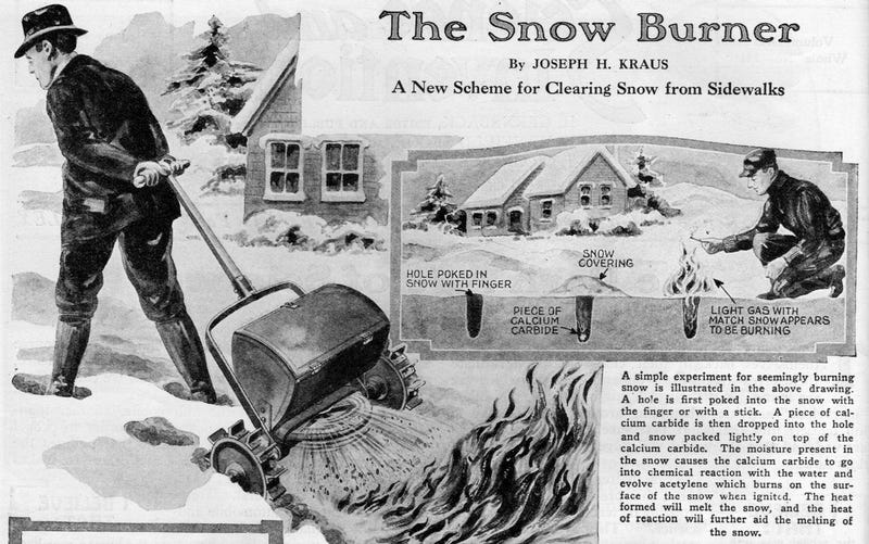 Tell Me You Wouldn't Buy This Snow-Fighting Fire Plow
